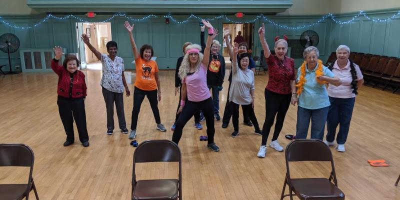 Fun and Functional exercise class.